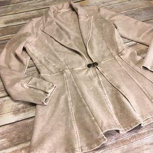 Testimony Los Angeles medium French Terry jacket
